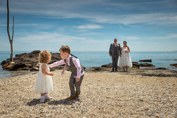 beach wedding photographer malaga